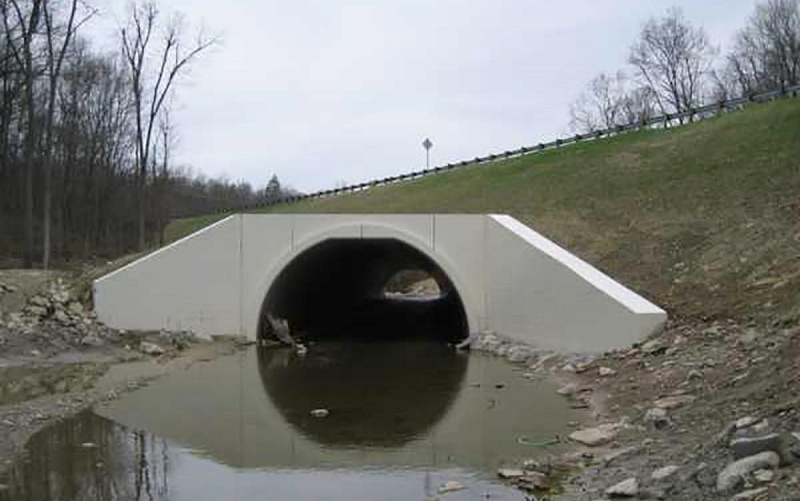 High Overfilled BEBO Arch - Route 126, Ohio, USA