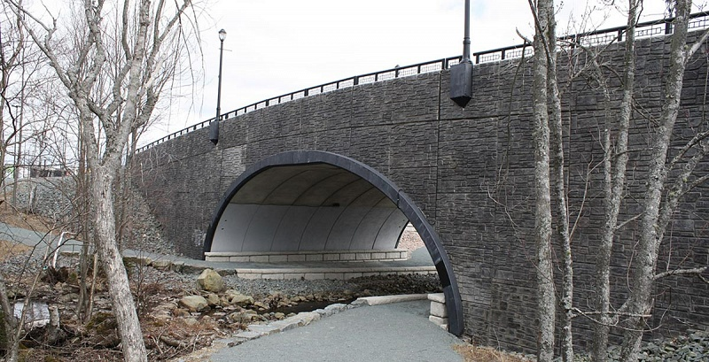 BEBO Single Span Arch - Halifax, Canada