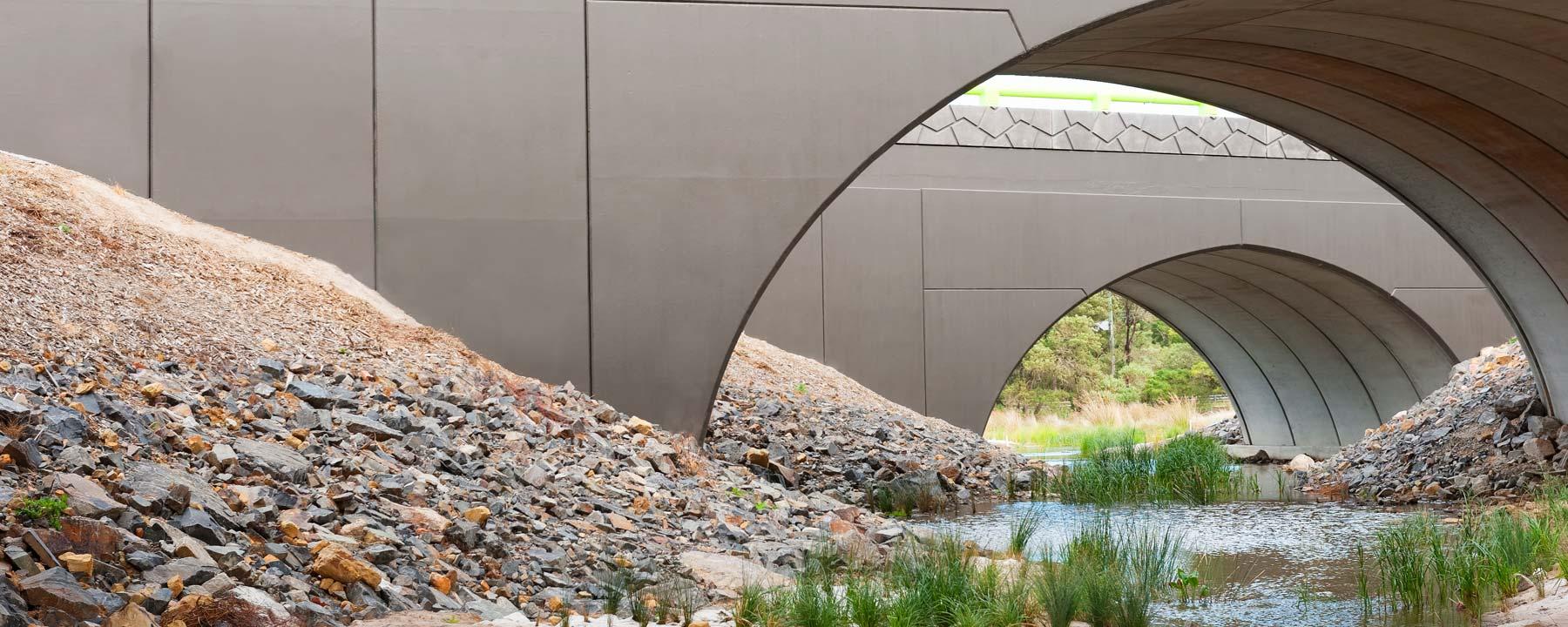 Precast Concrete Arches : Bebo arch solution